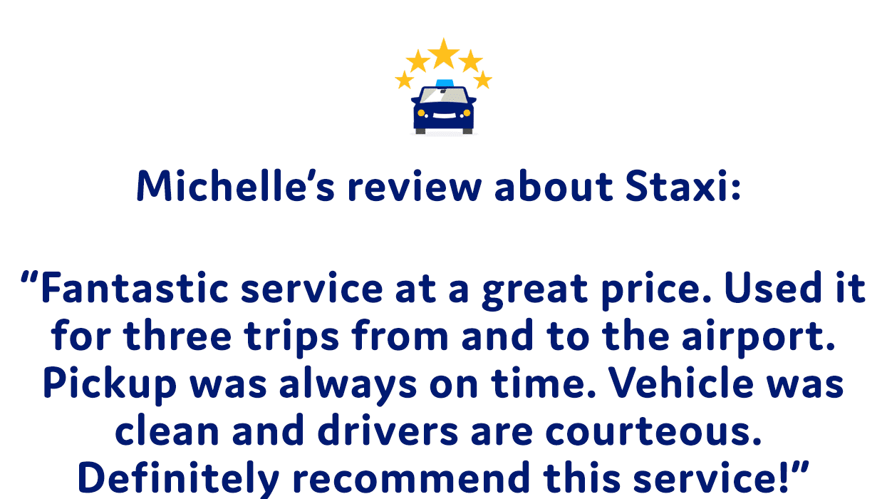 Taxi bus - review by Michelle